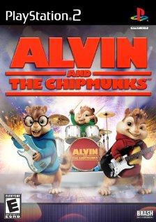 Alvin & The Chipmunks by Brash Entertainment (Playstation 2)